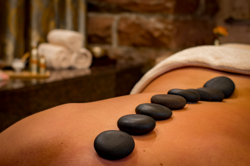 What is a Hot Stone Massage by Alpine Therapy